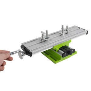 Good Milling Compound Working Table Cross Sliding Bench Drill Vise Fixture New