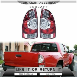 Left Right Led Tail Brake Lights Replacement 05 15for 2005 2015 Toyota Tacoma