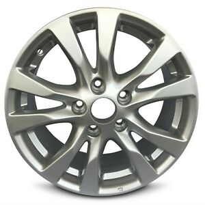 Set Of 4 16 Inch Aluminum Alloy Wheel Rims For 2010 2013 Nissan Altima 5 Lug
