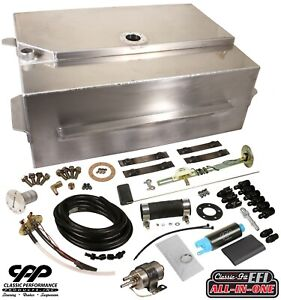 1973 87 Chevy Gmc Squarebody Fuel Injection Efi Aluminum Gas Tank Kit Bed Fill