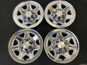 17 Chevy Silverado Sierra Tahoe Steel Factory Wheels Chrome 14 19 Oem Rims 5655