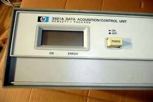 Agilent Hp 3421a With Hpib Opt 201 Data Acquisition Control Unit