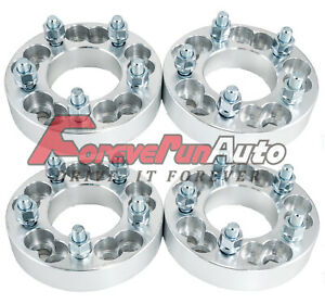 4pc 1 25 Thickness Wheel Spacers Adapters Converts 5x4 5 Or 5x4 75 To 5x112
