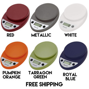 Escali Primo Digital Food Scale 11 Lb Capacity Various Colors Free Shipping