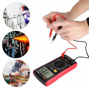 Multimeter Digital Ac Dc Voltage Current Tester Electrician Multifunction Meter