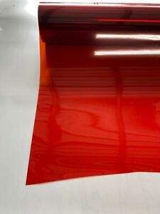 Red Non Reflective Tint Film Ferrari Shade Other Colors Available 20 X10 Feet