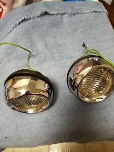 1954 1955 Oldsmobile 1958 Chevy S W S D Nos Guide Back Up Lamps Lights B3 54