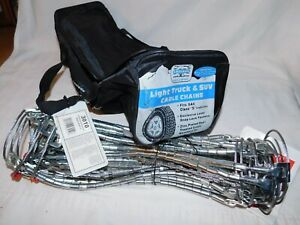 Laclede Truck Cable Tire Snow Chains Stock 3010 Never Used