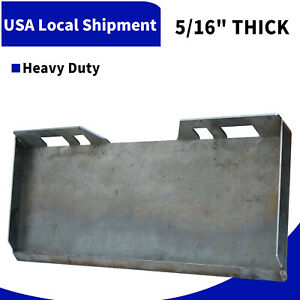 5 16 Mount Plate Skid Steer Loader Attachment For Bobcat Tractor Heavy Duty