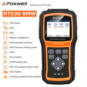 Foxwell Nt530 For Bmw Diagnostic Scanner Tool Airbag Abs Engine Reset