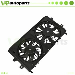 Engine Radiator Condenser Cooling Fan Assembly For Lacrosse Chevrolet Impala