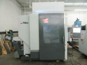 Used Haas Umc 750ss Cnc Vertical Machining Center 5 Axis Mill 15 Rpm Hsm Ct40