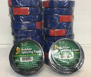 For 22 Rolls Duck Rubber Slicing Tape 22 x 3 4 New