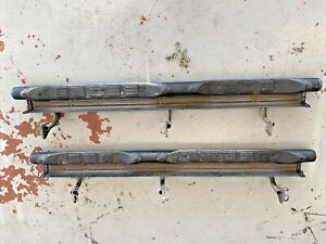1997 2003 Mitsubishi Montero Sport Side Step Bar Board Nerf Bar Pair Right Left