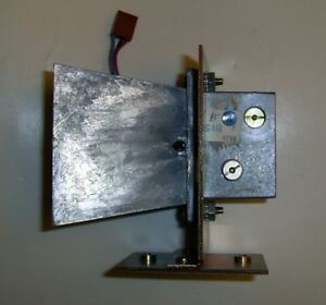 X band Transceiver gunnplexor With Large Horn Antenna Bracket By C k Systems