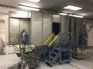 Nordson Powder Coating Paint Booths