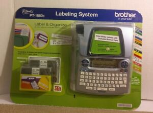 Brother P touch Pt 1880c Label Organize Labeling System 558526 W Tz Tape New