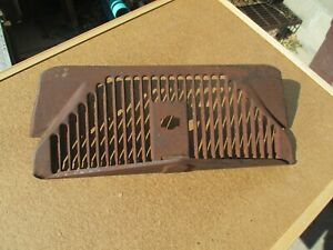 1936 Early Ford Truck Lower Inside Grille Pan Apron Original Pickup Panel