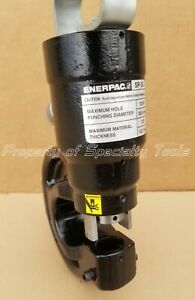 Enerpac Sp35 Hydraulic Portable 35 Ton Punch 1 4 3 4 Hole Capacity In 1 2 Steel