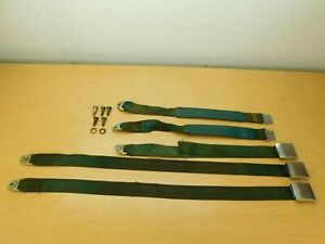Rear Seat Belts 1967 Dodge Monaco Polara Wagon 67dm1 5c3