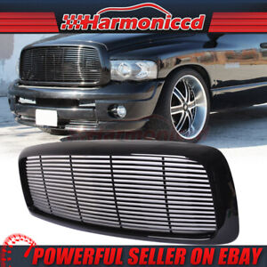 Fits 02 05 Dodge Ram 1500 03 05 Ram 2500 3500 Mesh Front Grille Abs