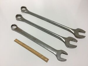 Snap On Industrial Size Combination Wrenches 3