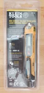 Klein Tools Non contact Voltage Tester With Laser Infrared Thermometer Ncvt 4ir