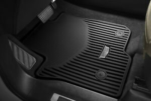 2021 Cadillac Escalade Esv All Weather Front Floor Mats 84503130 Black W Logo