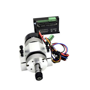 400w 12000rpm Er11 Chuck Cnc Brushless Spindle Motor clamp Speed Controller V0w8