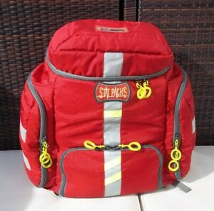 Statpacks G3 Clinician Backpack Bag Great For Ems Emt First aid Red