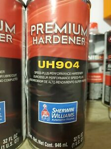 sherwin Williams Uh904 Hardener For Clear Coat Speed Plus Performance New