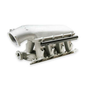 Holley Intake Manifold 300 273 Hi ram Satin Cast Aluminum For Ford 289 302 Sbf