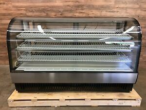 2018 True Tcgr 77 78 Curved Glass Refrigerated Display Bakery deli Case 115 V
