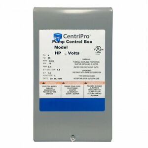 Cb05411 Goulds 1 2hp Quick Disconnect Control Box 115v
