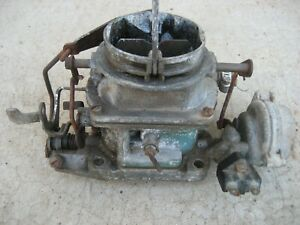 1957 Buick Carburetor Vintage Bendix Stromberg Ww 2 Barrel Carburetor