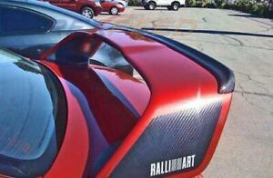 Rexpeed Carbon Fiber Gurney Flap For 2008 2016 Mitsubishi Evolution X 10