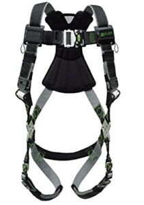 Miller Revolution Full Body Safety Harness With Quick Connectors Rdtfd qc dp ubk