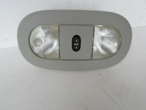 2004 2008 Ford F150 Overhead Console Dome Light Map Light W Sun Roof Switch Gray
