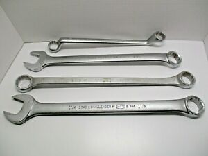 Lot Of 4 Large Wrenches 2 Proto Challenger 1 Fleet 1 Continental American