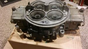 Holley 1150 Dominator Carburetor Rebuilt Ready To Race Bo Laws Linkage Drag