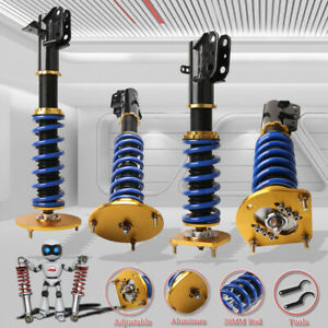 Adjustable Coilover Struts Shocks Suspension For 00 05 Dodgeneon 03 05 Srt 4 Sx