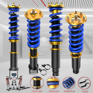 Adjustable 4x Coilovers Struts Shocks Set For 08 12 Honda Accord 09 14 Acura Tsx