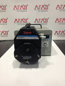 Cole Parmer Masterflex Ip Peristaltic Pump W 2 Thermo Sci Easy Load Heads