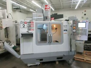 Haas Vf 2 Super Speed Cnc Vertical Machining Center With Probing