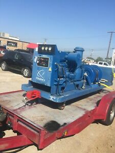 Quincy Qslp 15 Rotary Screw 15 Hp Air Compressor Only 684 Hrs Air Bearing System