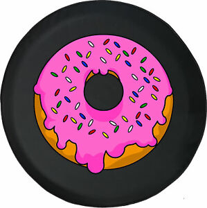 Jelly Doughnut Pink Donut Spare Tire Cover