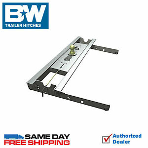 B W Turnover Ball Gooseneck Hitch 7500 Gtw 1999 2010 Ford F250 F350 Direct Fit
