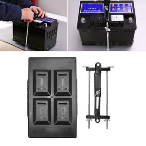 Universal Car Suv Storage Battery Holder Adjustable Tray Hold Down Clamp Bracket