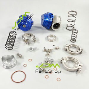 Blue Bov50mm Mvr44 Wastegate Combo Turbo Blow Off Valve 50mm 44mm Wastegate Kit