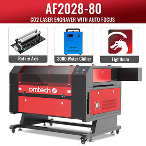 Omtech 80w 28x20 Inch Co2 Laser Engraver Engraving Cutting With Ruida Lightburn